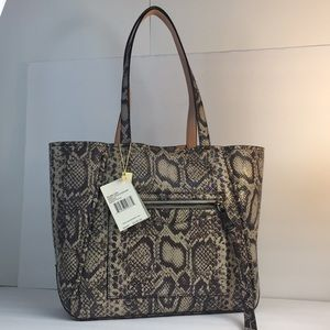 New AIMEE Kestenberg Delara Tote grey bag